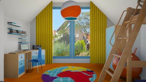 my boy - Kids room  - by ANAAPRIL