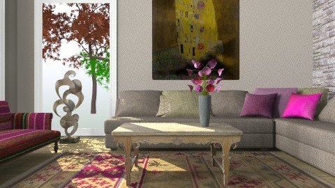 Kilim - Eclectic - Living room  - by Dina1970