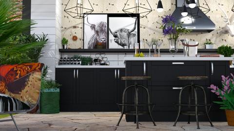 Kansas - Rustic - Kitchen  - by LuzMa HL