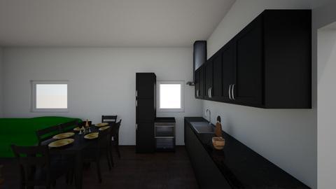 Cristian - Living room  - by roxikf