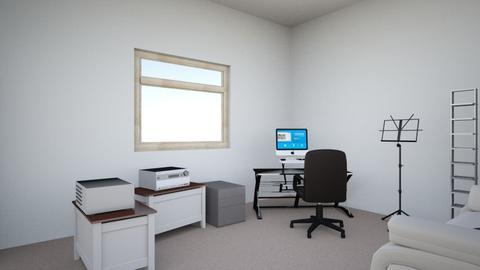 Clovis house - Retro - Office  - by manasra
