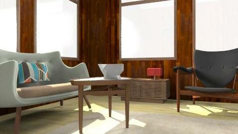 Poet Sofa - Vintage - Living room  - by DWR_Catalog