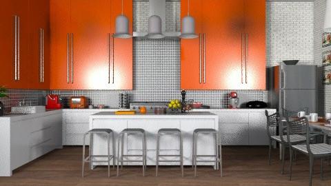 On the Menu - Kitchen  - by jenshadow_222