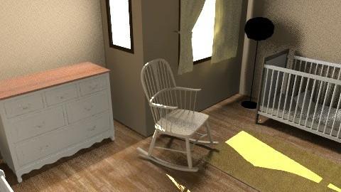 Neutral  Nursery - Classic - Kids room  - by zombiepanda