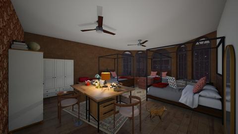 hogwarts dorm - Bedroom  - by jadexx2005