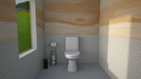 Contemporary Toilet  - Bathroom  - by designkitty31