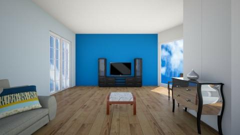 Living9A - Living room - by hala amroussy