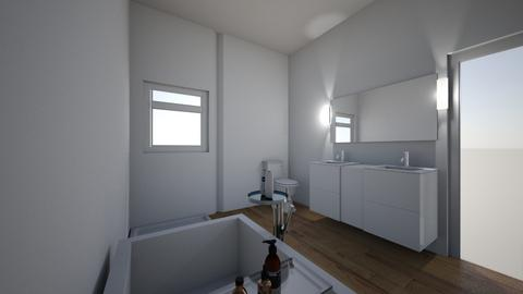 Alan Rose 2 - Minimal - Bathroom - by KCDickinson