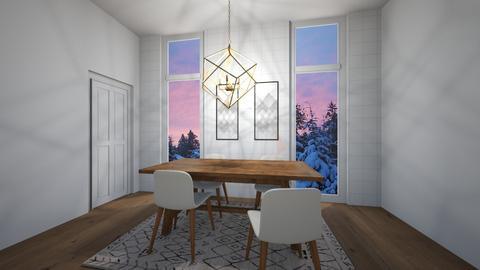 Dining Room - Minimal - Dining room - by SpookyjimKilljoy