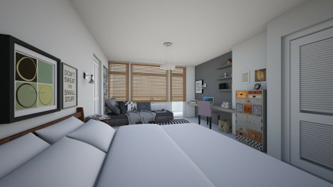 Bedroom redesign - Modern - Bedroom  - by vagrfd