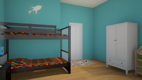 Boys Room - Modern - Kids room  - by Everlast