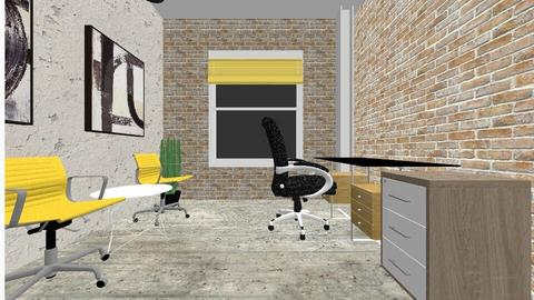 office his hers - Modern - by decordiva1