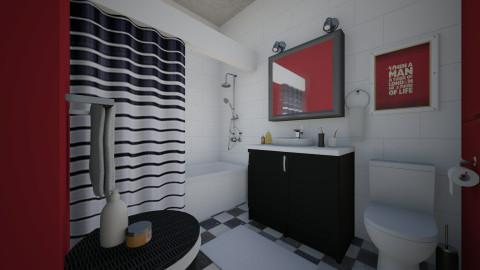 Nikki in London - Modern - Bathroom  - by Tuija