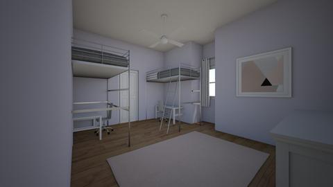 ellia bedroom - Kids room  - by marymbarbee
