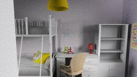 Lia_Itay_82 - Classic - Kids room  - by noga boyarsky