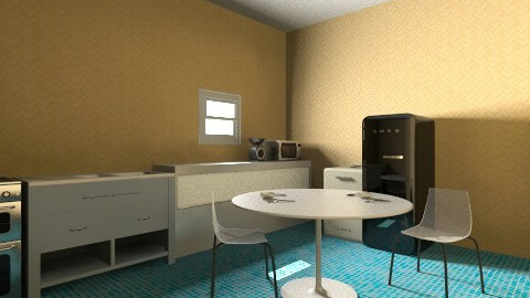 average kitchen - Eclectic - Kitchen  - by stelo delio