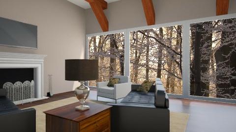 Cabin Feeling - Rustic - Living room  - by Pinker13