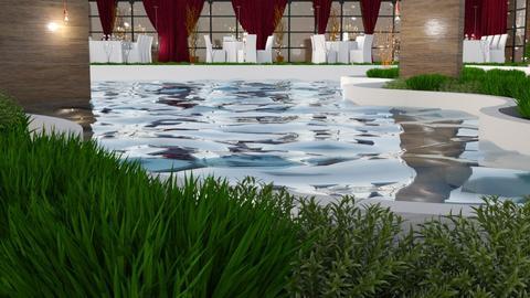 Hotel Pool  - by yonvie