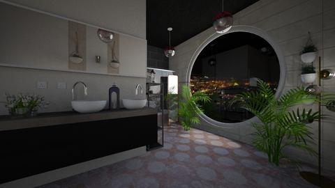 Cherry Blossom Bathroom - Classic - Bathroom  - by bTS_ARMYBLINKY_bangpink