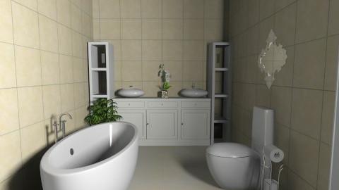 BANHEIRO 0A - Glamour - Bathroom  - by tuuuuti