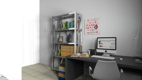 Reading room - Modern - Office - by Celestina Lui