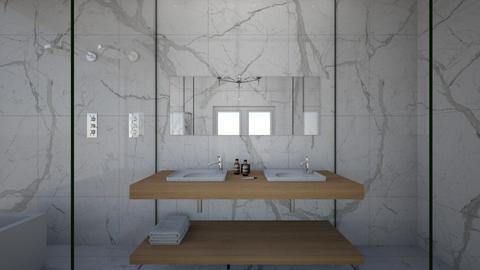 banheiro master - Bathroom - by thiag