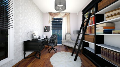 home office - Classic - Office  - by queen_A