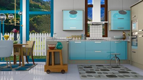 Upper Cas - Modern - Kitchen  - by Gurns