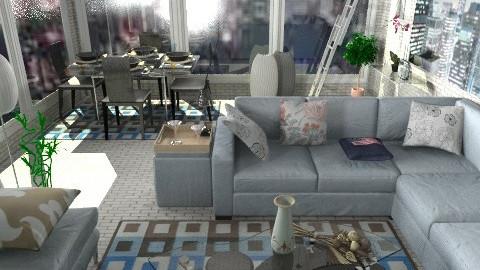 new york - Classic - Living room  - by ATELOIV87