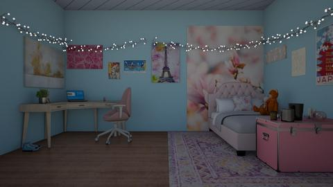 Yumas Room - Feminine - Bedroom - by MeatCathedral
