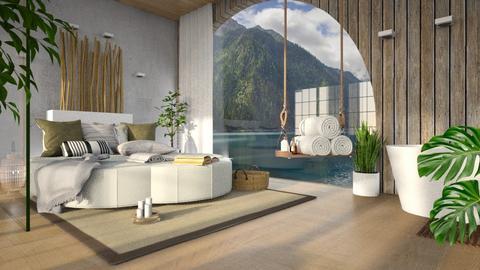Z E N 2 - Bedroom  - by Galstyler