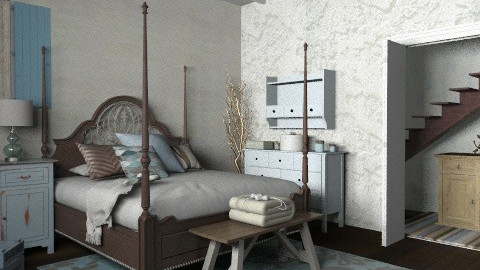 Southern Comfort - Vintage - Bedroom  - by starsector