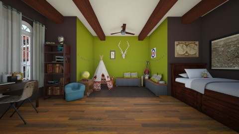 A Room for a Boy - Kids room  - by penniedreadful