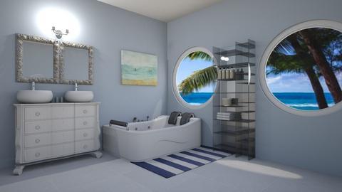 Naut - Retro - Bathroom  - by emivim