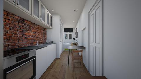 Micro Micro Apartment  - Kitchen  - by SammyJPili