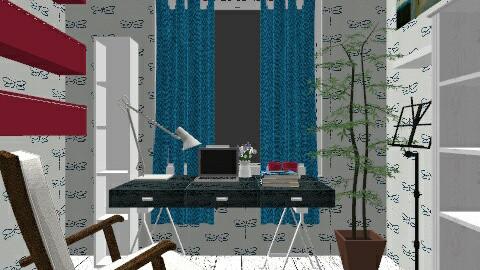 sVI - Eclectic - Bedroom  - by umbrella