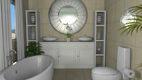 Cotswolds Master bath 2 - Glamour - Bathroom  - by channing4