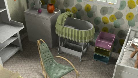 the begining - Modern - Kids room  - by mogly