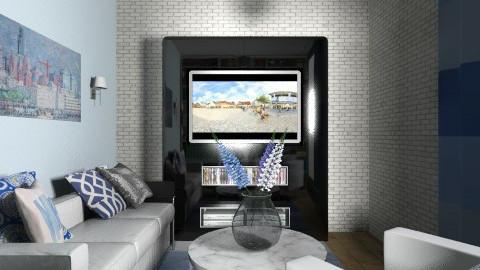 4 - Retro - Living room  - by belma1996