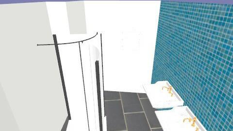 mijn badkamer - Rustic - Bathroom  - by wmeelke