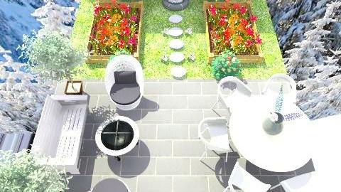 Glam Garden - Glamour - Garden  - by tatertot0514