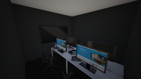 Game room for the boys - Modern - Office  - by hoonzilla