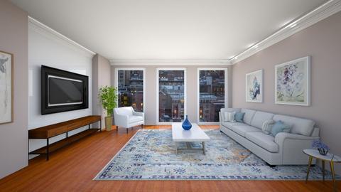205 E 85th St Apt 12G NY - Living room  - by sfurkan