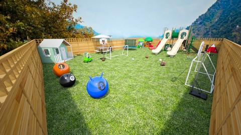 kids garden - Modern - Kids room  - by Stavroula Chatzina