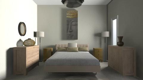 mums thai bedroom - Rustic - Bedroom  - by jess4u9