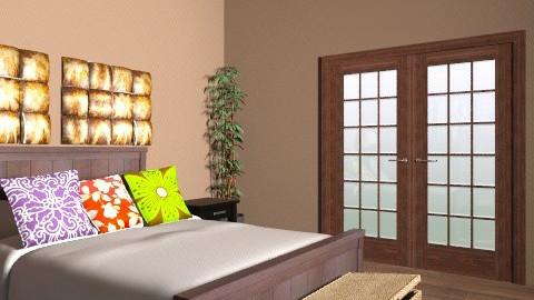 bedroom - Retro - Bedroom  - by angelkissez676