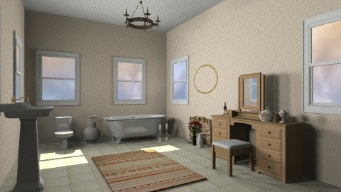 Bathroom - Vintage - Bathroom  - by mpy1999