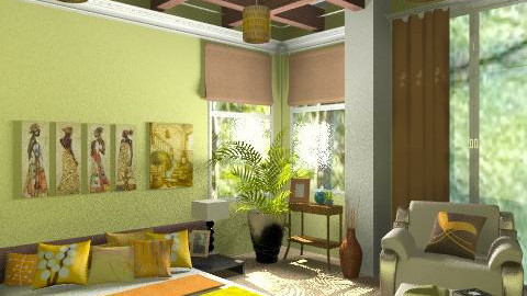 Peaceful relaxation - Modern - Bedroom  - by milyca8
