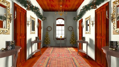 Christmas Manor - Classic - Living room - by HGranger2