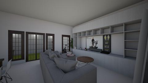 Ruang Tamu - Living room - by fayerith